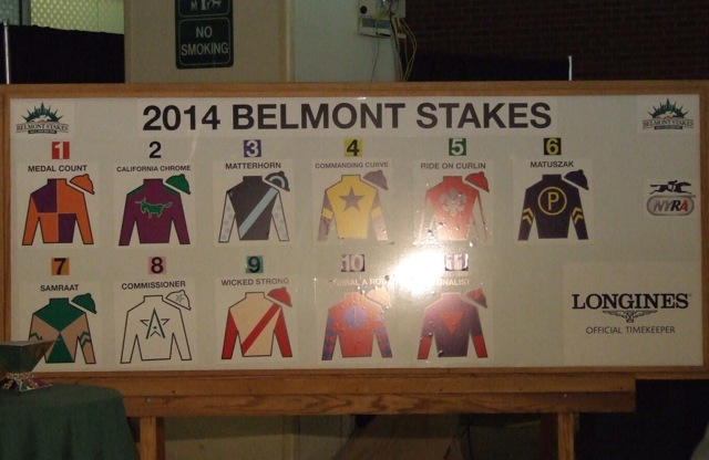 The Belmont Stakes Draw A New York State Of Racing