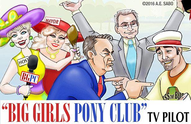 Big Girls Pony Club Tv Pilot Racing Hearts Horse