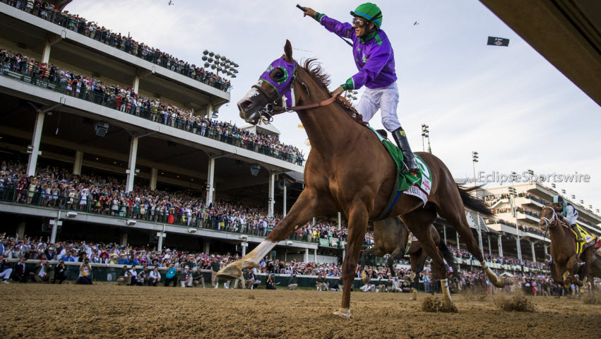 California Chrome Dazzles In 140th Running Of The Kentucky
